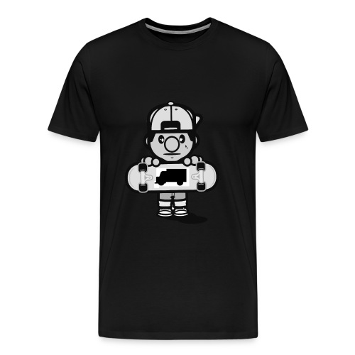Tommy TF - Mannen Premium T-shirt