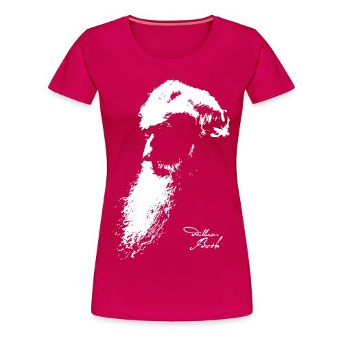 William Booth Signature (weiß) - Frauen Premium T-Shirt