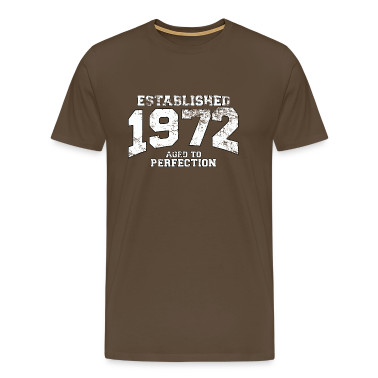 established 1972 - aged to perfection (it) T-shirt