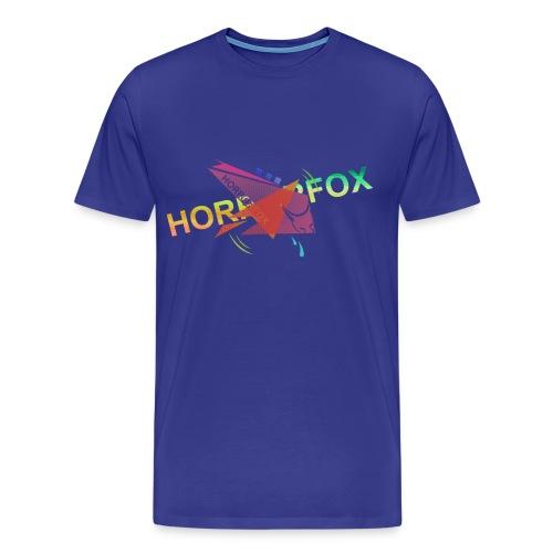 HorrorFox Complex Men's Tee [Blue] - Men's Premium T-Shirt