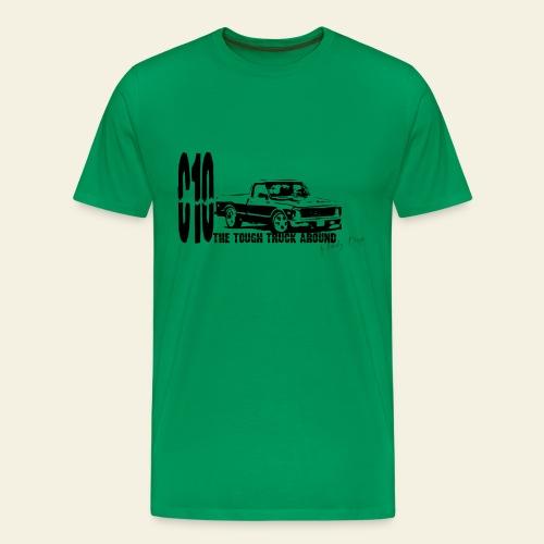 Chevy C10 truck  - Herre premium T-shirt