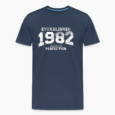 established 1982 - aged to perfection (uk) T-Shirts