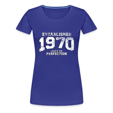 established 1970 - aged to perfection (uk) T-Shirts