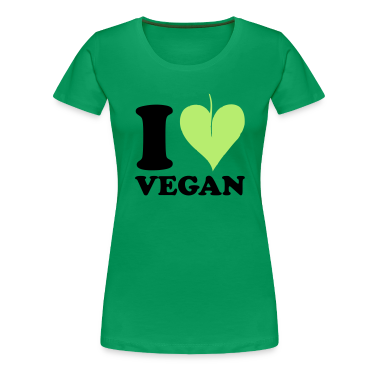 I love Vegan T-Shirts