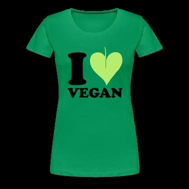 I love Vegan T-Shirts