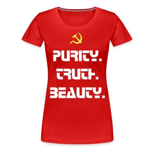 Purity. Truth. Beauty. - Women's Premium T-Shirt
