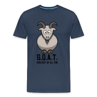 T-Shirts ~ Men's Premium T-Shirt ~ 4 the Plus sized GOATS!