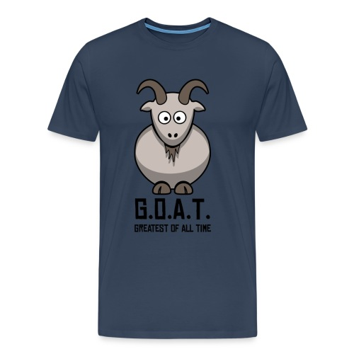 4 the Plus sized GOATS!   - Men's Premium T-Shirt