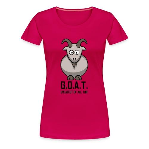 Lady G.O.A.T - Women's Premium T-Shirt