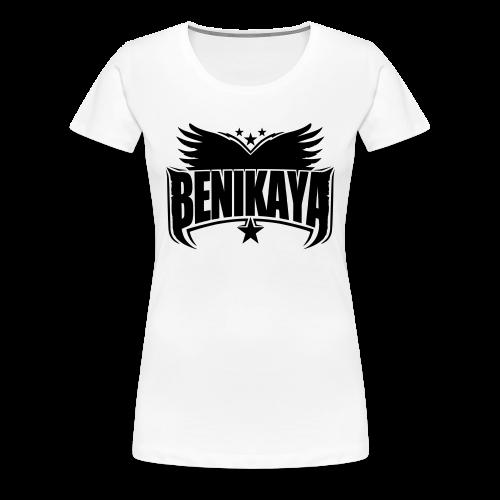 Benikaya Classic Logo Frauen - Frauen Premium T-Shirt