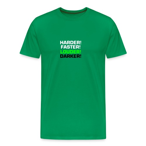 Mens Harder! Tee - Men's Premium T-Shirt
