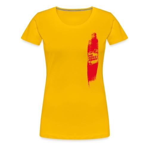 Heilsarmee Shield Streifen (rot) - Frauen Premium T-Shirt