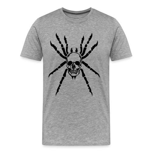 tribal tete mort araigne mygale skull16  Tee shirts - T-shirt Premium Homme