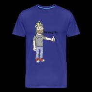 T-Shirts ~ Men's Premium T-Shirt ~ Mens Logo : WB Logo