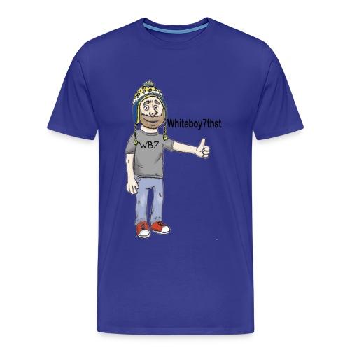 Mens Logo : WB Logo  - Men's Premium T-Shirt