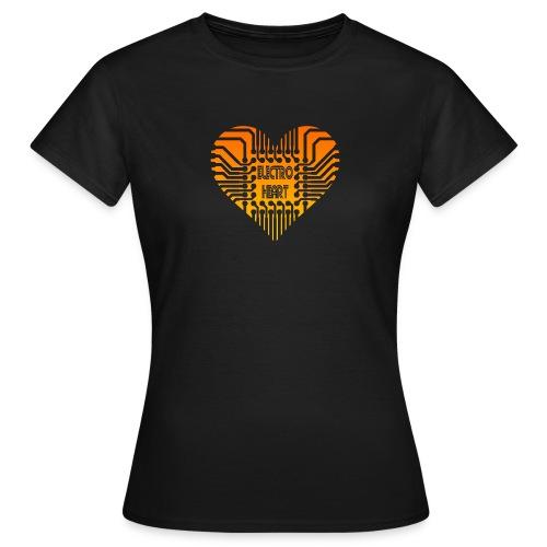 Electro Heart - T-shirt Femme