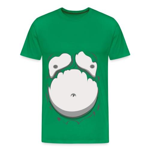 fat man illusion - Men's Premium T-Shirt