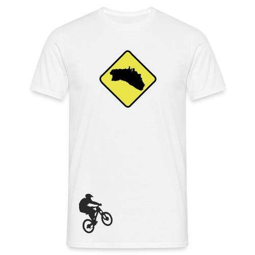 Menorca mapa mountain bike arena - Camiseta hombre