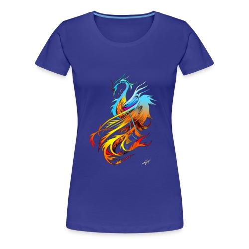 Phoenix woman - Women's Premium T-Shirt