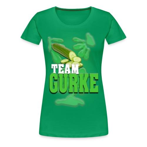Team Gurke - Frauen - Frauen Premium T-Shirt