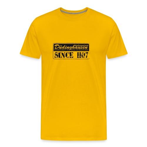 Düdinghausen since 1107 - Männer Premium T-Shirt