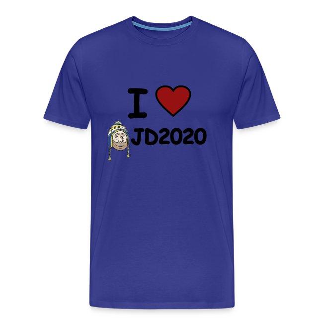 Men's Tee I Heart JD2020