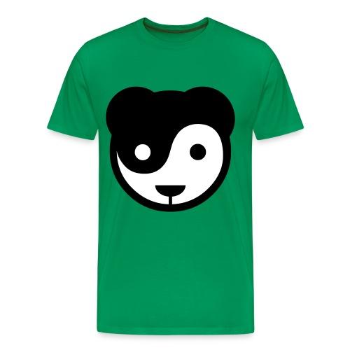 Ying Yang Panda Tee - Herre premium T-shirt