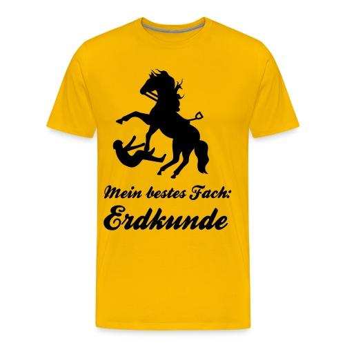 Erdkunde 2 - Männer Premium T-Shirt