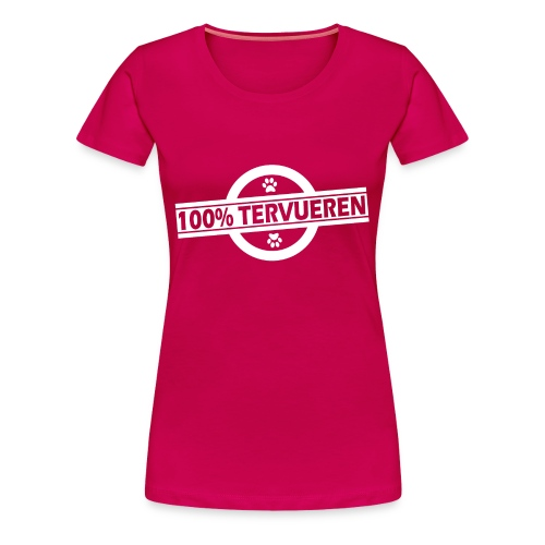 100% Tervueren - T-shirt Premium Femme