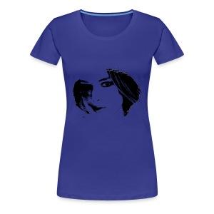 Portrait 2 Tee shirts  - T-shirt Premium Femme