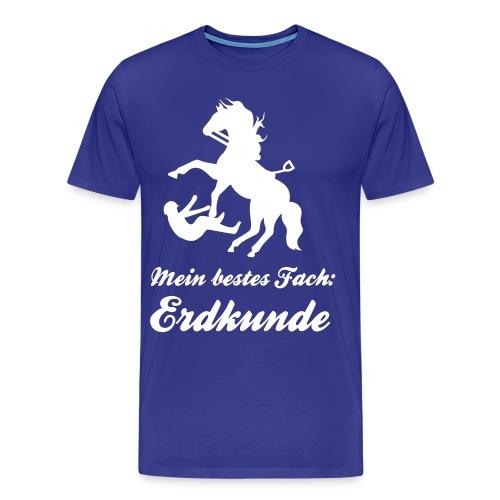 Erdkunde - Männer Premium T-Shirt