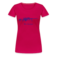 T-Shirts ~ Women's Premium T-Shirt ~ Womens Tee : No Scope (Purple)