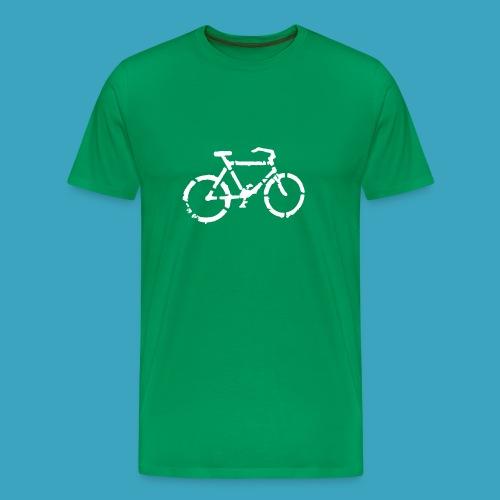 Fahrrad im Grünen - Männer Premium T-Shirt