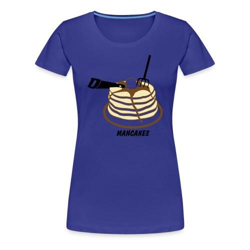 Womens Tee : Man Cakes  - Women's Premium T-Shirt