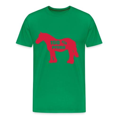 150% Pferd - Männer Premium T-Shirt