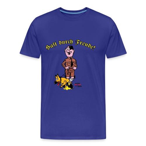 Saft durch Freude 2.0 - Männer Premium T-Shirt