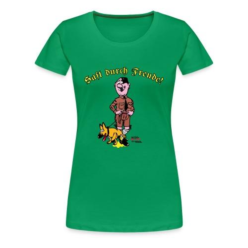 Saft durch Freude 2.0 - Frauen Premium T-Shirt