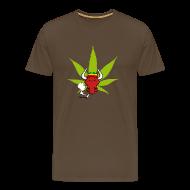 T-Shirts ~ Männer Premium T-Shirt ~ Kiffer Oxe - Shirt
