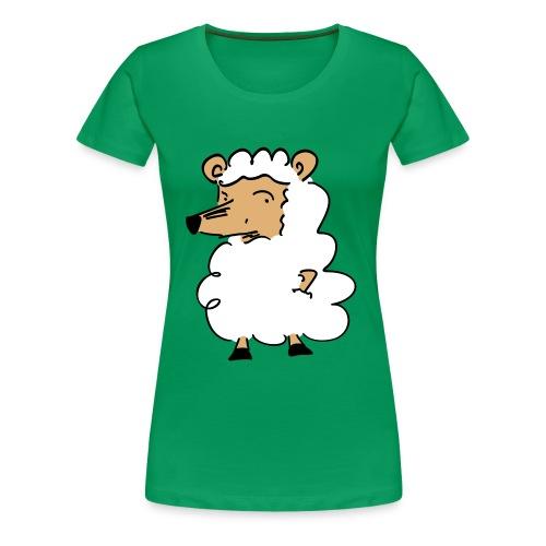 Wolf im Schafpelz - Frauen Premium T-Shirt