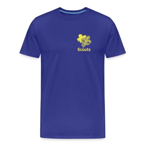 Scouts Leiding Heren - Mannen Premium T-shirt