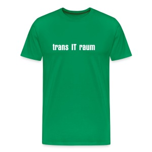 trans IT raum - Men's Premium T-Shirt