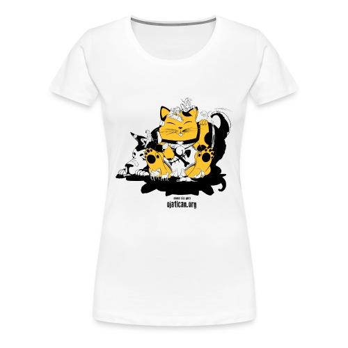 mod.Enma-amarillo mujer m/c - Camiseta premium mujer
