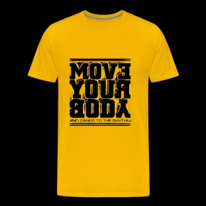 Move Your Body (black) - Premium-T-shirt herr