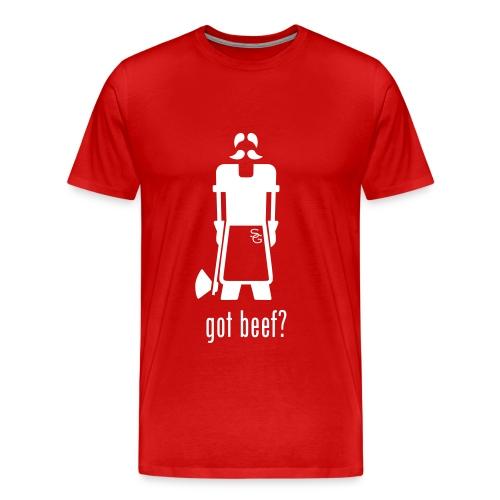 Got Beef? - Red - Mannen Premium T-shirt