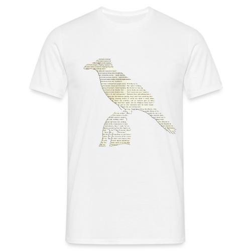 «El cuervo», poema - Camiseta hombre