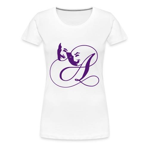 Das A classic Girl - Frauen Premium T-Shirt