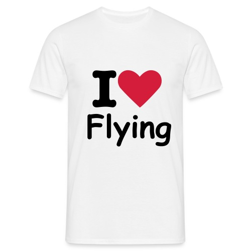 T-shirt I Love Flying - T-shirt Homme