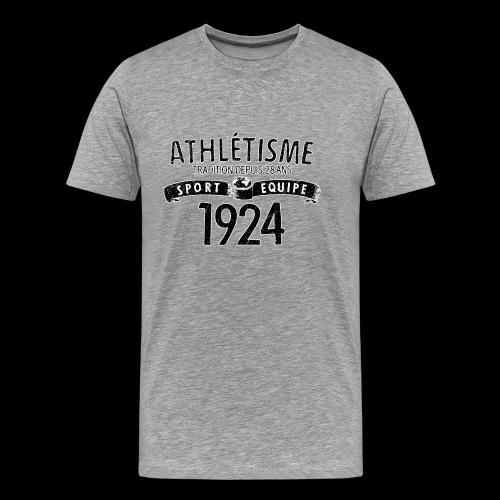 Sport Equipe 1924 (black oldstyle) - Premium-T-shirt herr