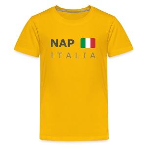 Teenager T-Shirt NAP ITALIA dark-lettered  - Teenage Premium T-Shirt
