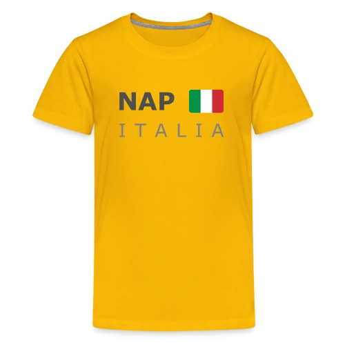 Teenager T-Shirt NAP ITALIA dark-lettered  - Teenage Premium T-Shirt